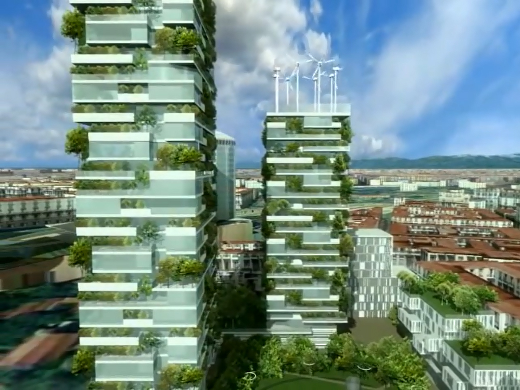 Nat rlich bauen vorzeigeprojekt f r eine nachhaltige for Architektur mailand